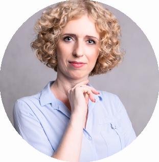 Katarzyna Biernacka właścielka iMedia Soutions zdjęcie biznesowe